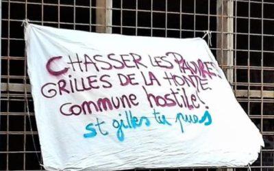 La commune de Saint-Gilles lutte contre le sans-abrisme en chassant les sans-abris